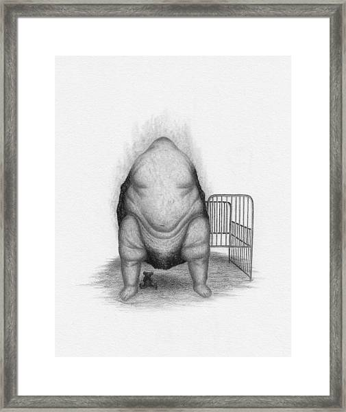 Framed Print featuring the drawing Loaded - Artwork  by Ryan Nieves