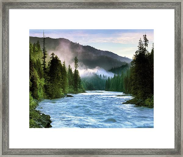 Lochsa River Framed Print