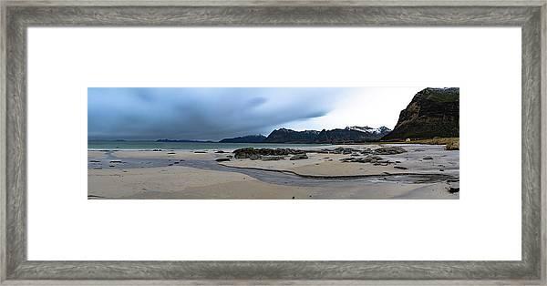 Lofoten Beach Framed Print