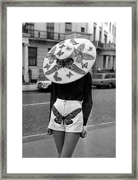 London, England, 6th April 1971, A Framed Print by Popperfoto