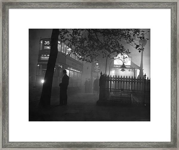 London Scenes Framed Print