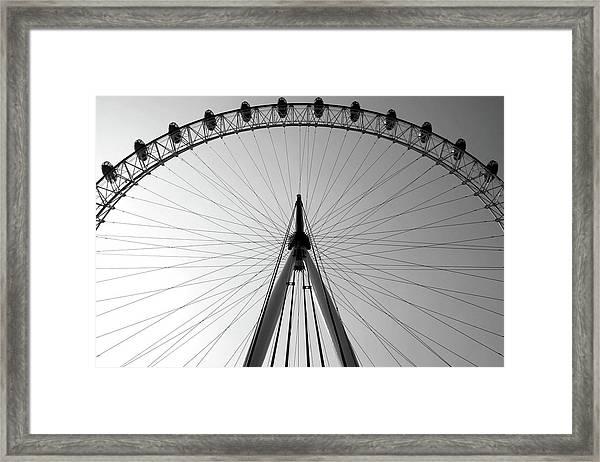 London_eye_i Framed Print