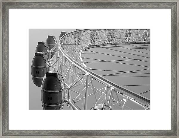 London_eye_ii Framed Print