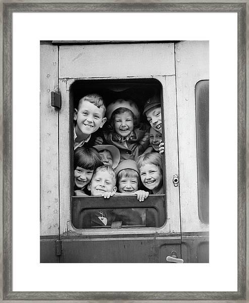 Londons Children Framed Print