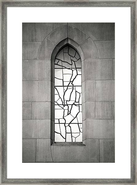 Lone Cathedral Window Framed Print