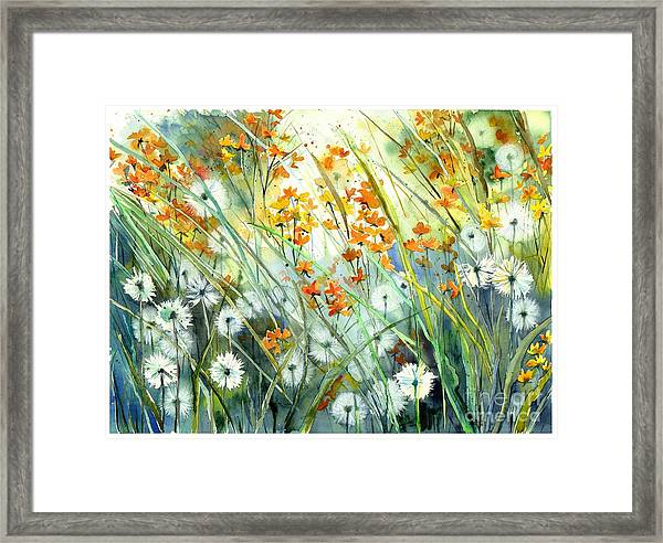 Lonely End Of The Summer Framed Print