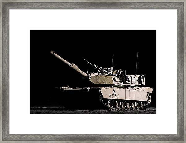 Lonely Nights Framed Print