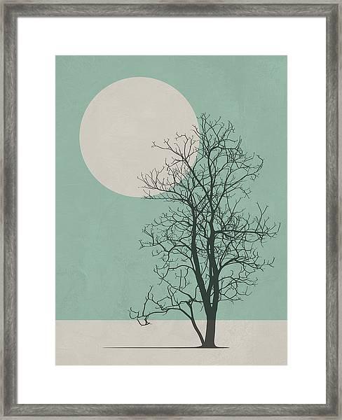 Lonely Tree II Framed Print