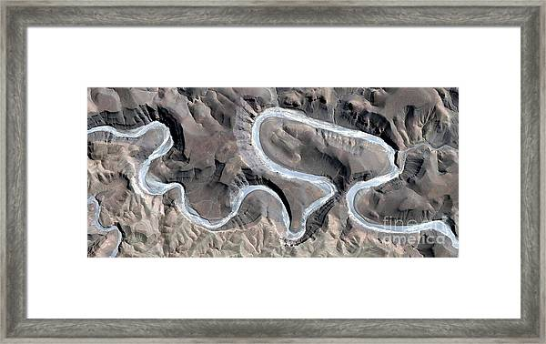 Long And Curved Path, Allegory, Tribute Framed Print