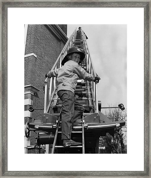 Long Climb Ahead Framed Print