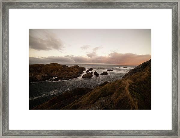Long Exposure Arctic Framed Print