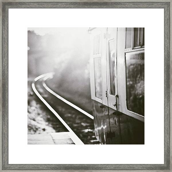 Long Train Running Framed Print