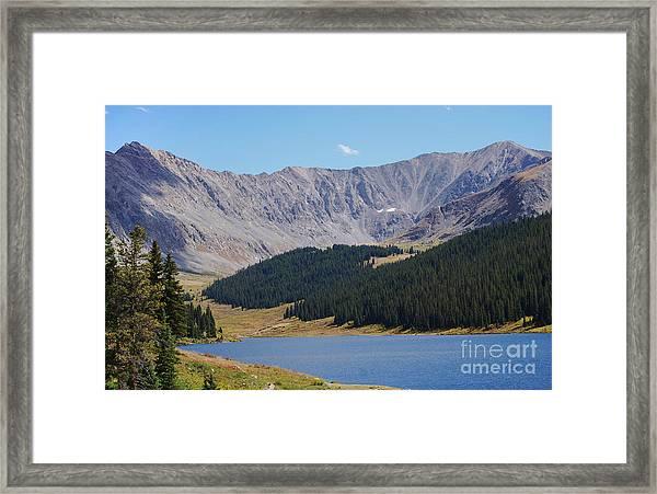 Longs Peak Colorado Framed Print