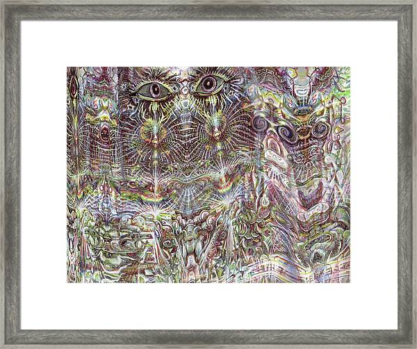 Looking Through Framed Print