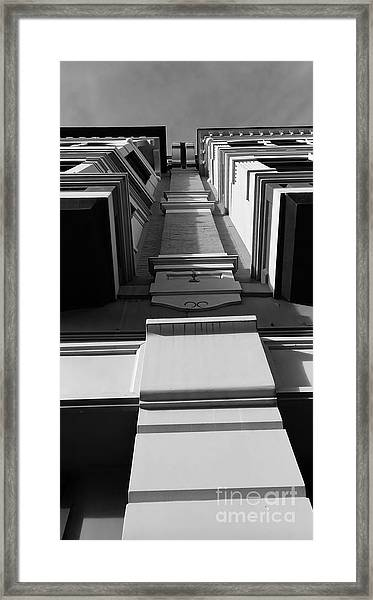 Framed Print featuring the photograph Looking Up by Jeni Gray
