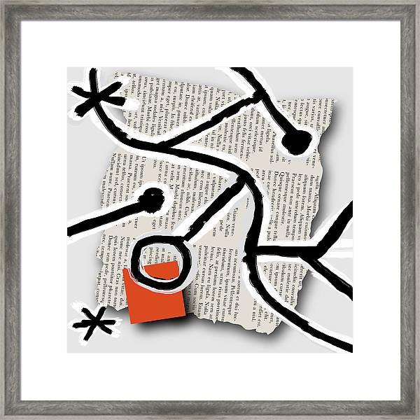 Lorem Ipsum 1 Framed Print