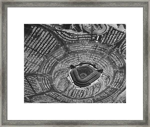 Los Angeles Dodgers Framed Print