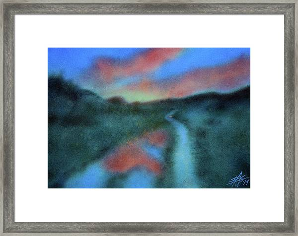 Los Penasquitos Canyon Xvi  Framed Print by Robin Street-Morris