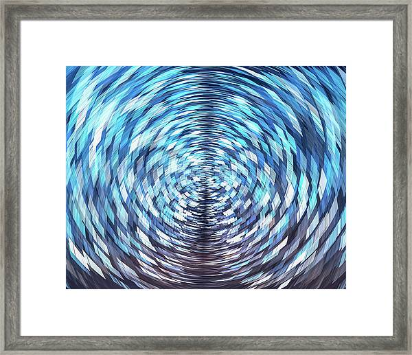 Framed Print featuring the photograph Lost In Hyperspace 10x8 by William Dickman