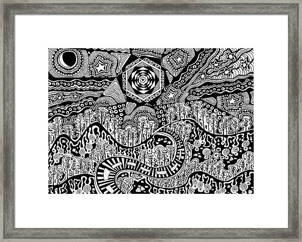 Lost In The Pilliga Framed Print