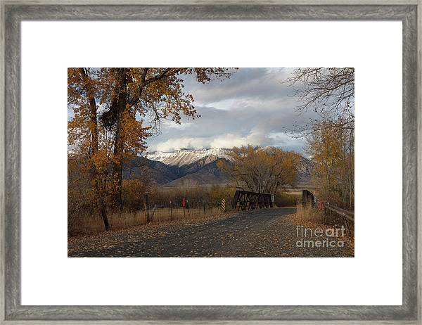 Lost River Bridge Framed Print