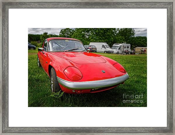 Lotus Elan Se S3 Coupe  Framed Print