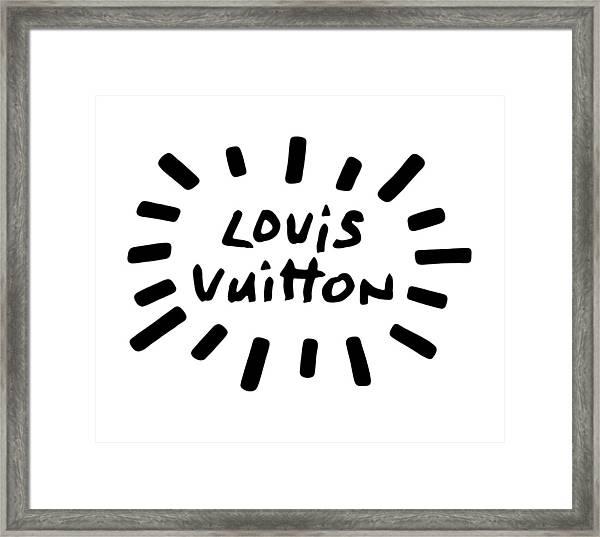 Louis Vuitton Radiant-1 Framed Print