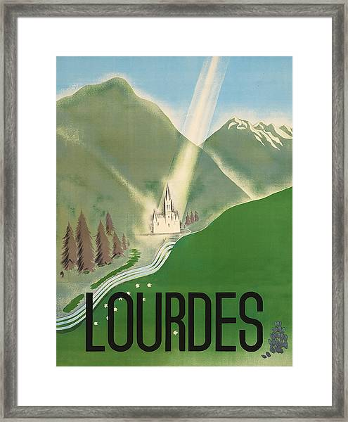 Lourdes Framed Print
