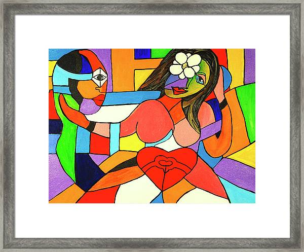 Love And Be Loved Framed Print