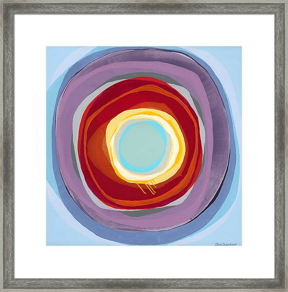 Love And Leisure Framed Print