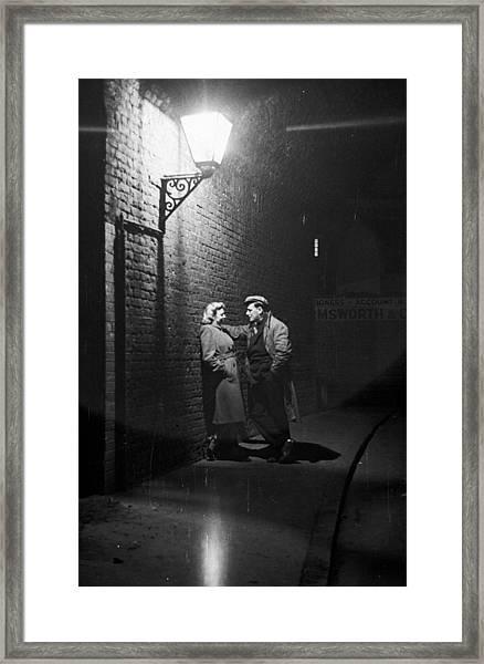 Love In Southwark Framed Print