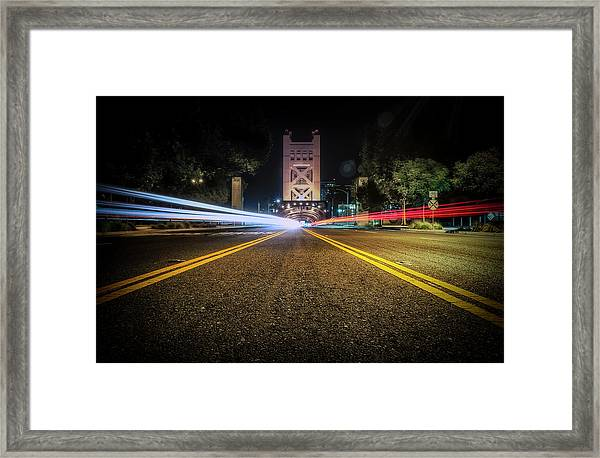 Love Is A Two Way Street Framed Print