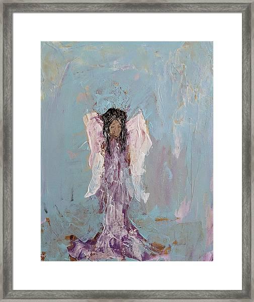 Lovely Angel  Framed Print