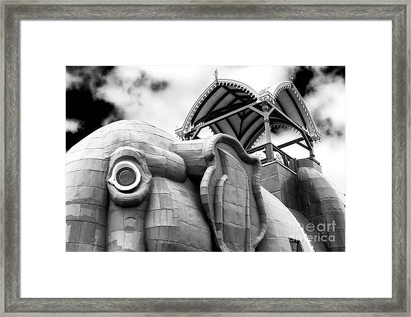 Lucy The Elephant Jersey Shore Framed Print