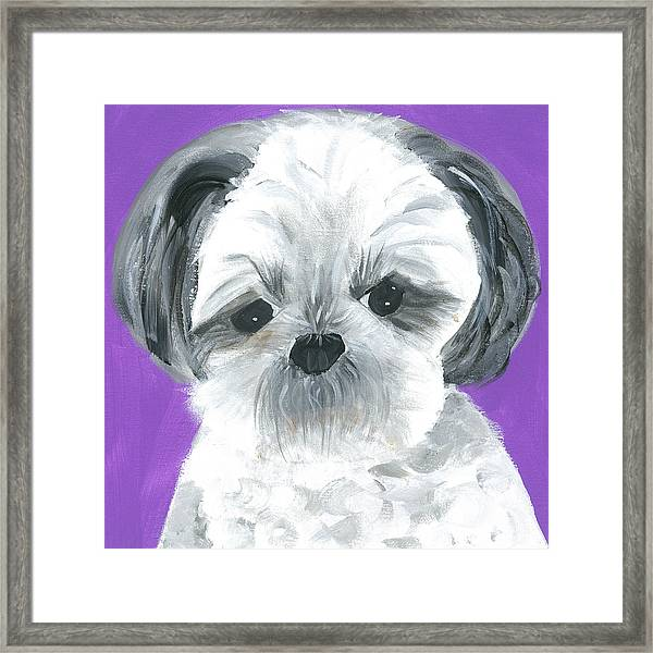 Framed Print featuring the painting Lulu by Suzy Mandel-Canter