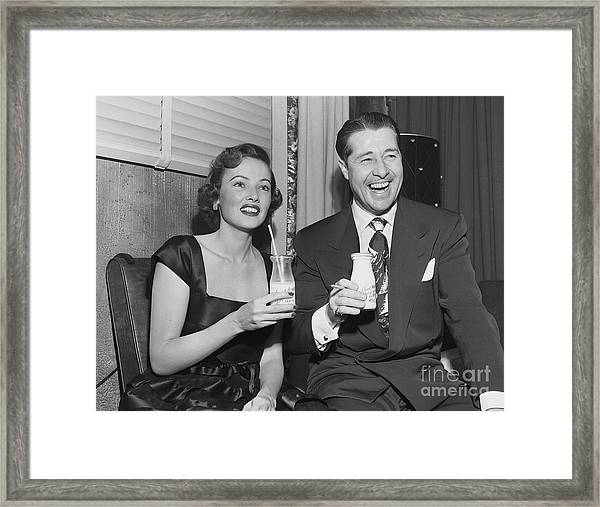 Lux Radio Theatre Framed Print by Cbs Photo Archive