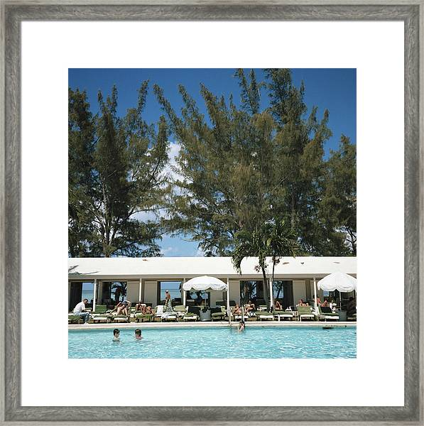 Lyford Cay Club Framed Print
