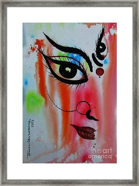 Ma Durga-5 Framed Print