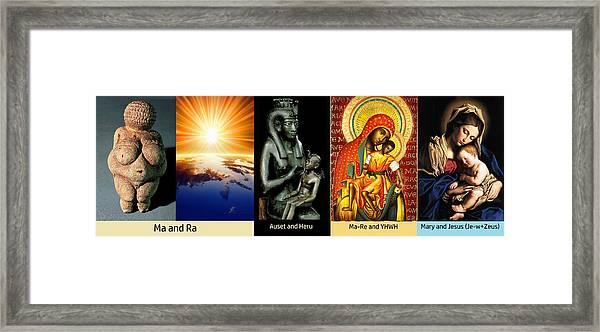 Ma Ra Evolution Framed Print