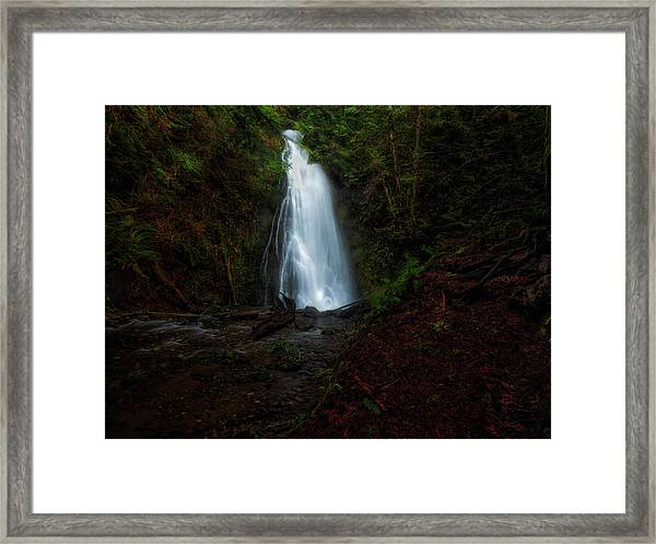 Madison Falls Framed Print