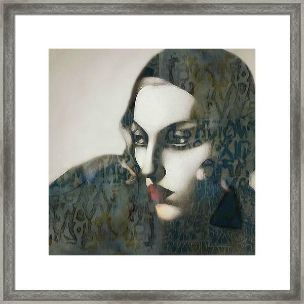 Madonna - Material Girl Framed Print