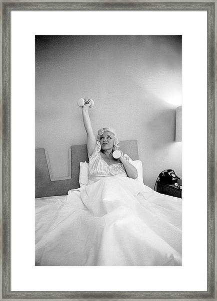 Mae West Framed Print
