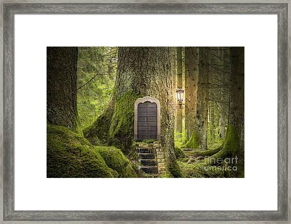 Magic Fantasy World Framed Print