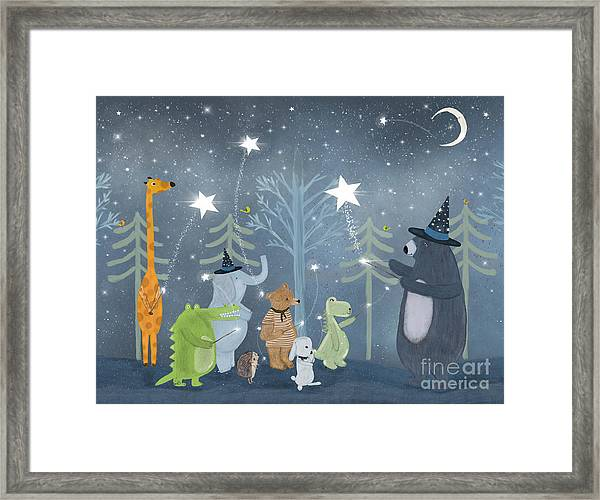 Magic Stars Framed Print by Bri Buckley