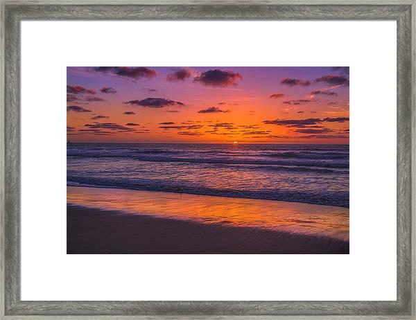 Magical Sunset Framed Print
