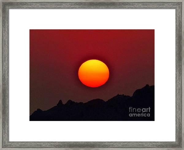 Magnificence Framed Print