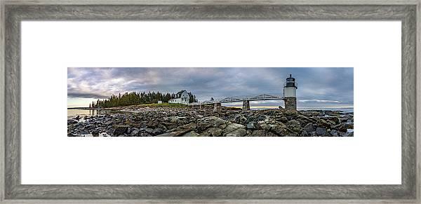 Maine Daybreak Framed Print