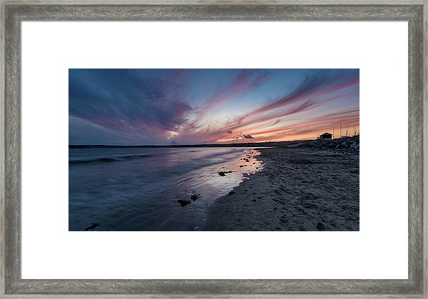 Marazion Sunset - Cornwall Framed Print
