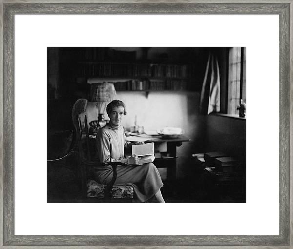 Margot Asquith Framed Print