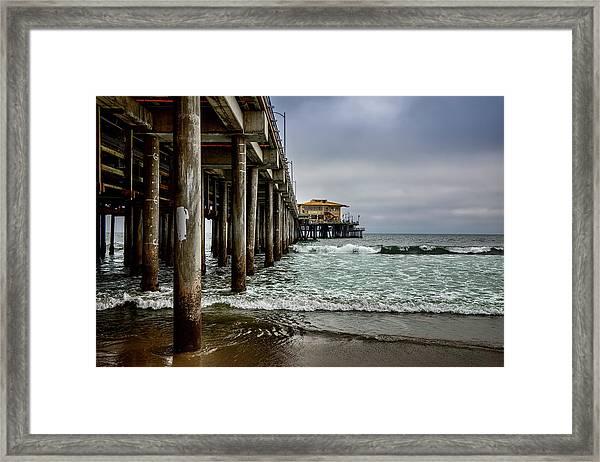 Mariasol On The Pier 2 Framed Print